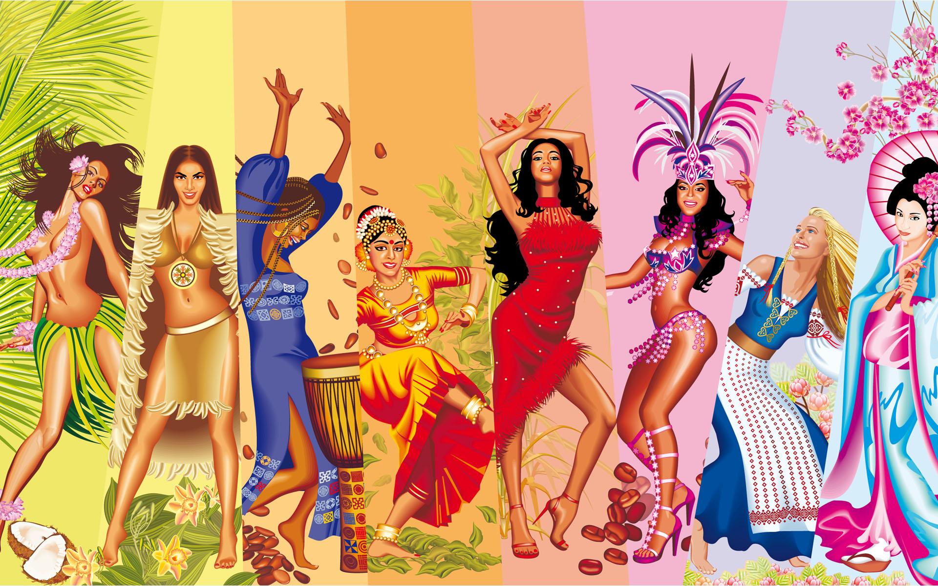 Фотографии девушек всех национальностей 8 фотография